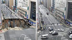 日本人修理画像