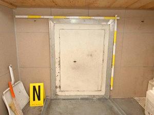 地下室入り口